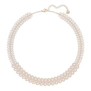 Swarovski Baron Necklace in Rose Gold